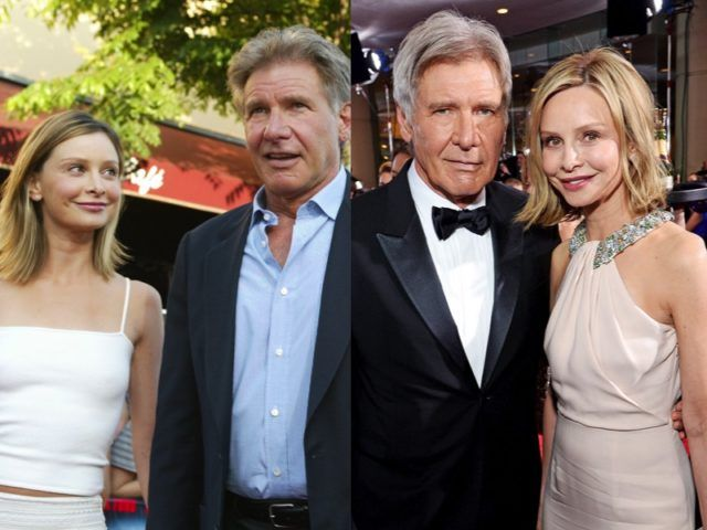 The Most Famous Celebrity Wives Then And Now Harrison Ford
