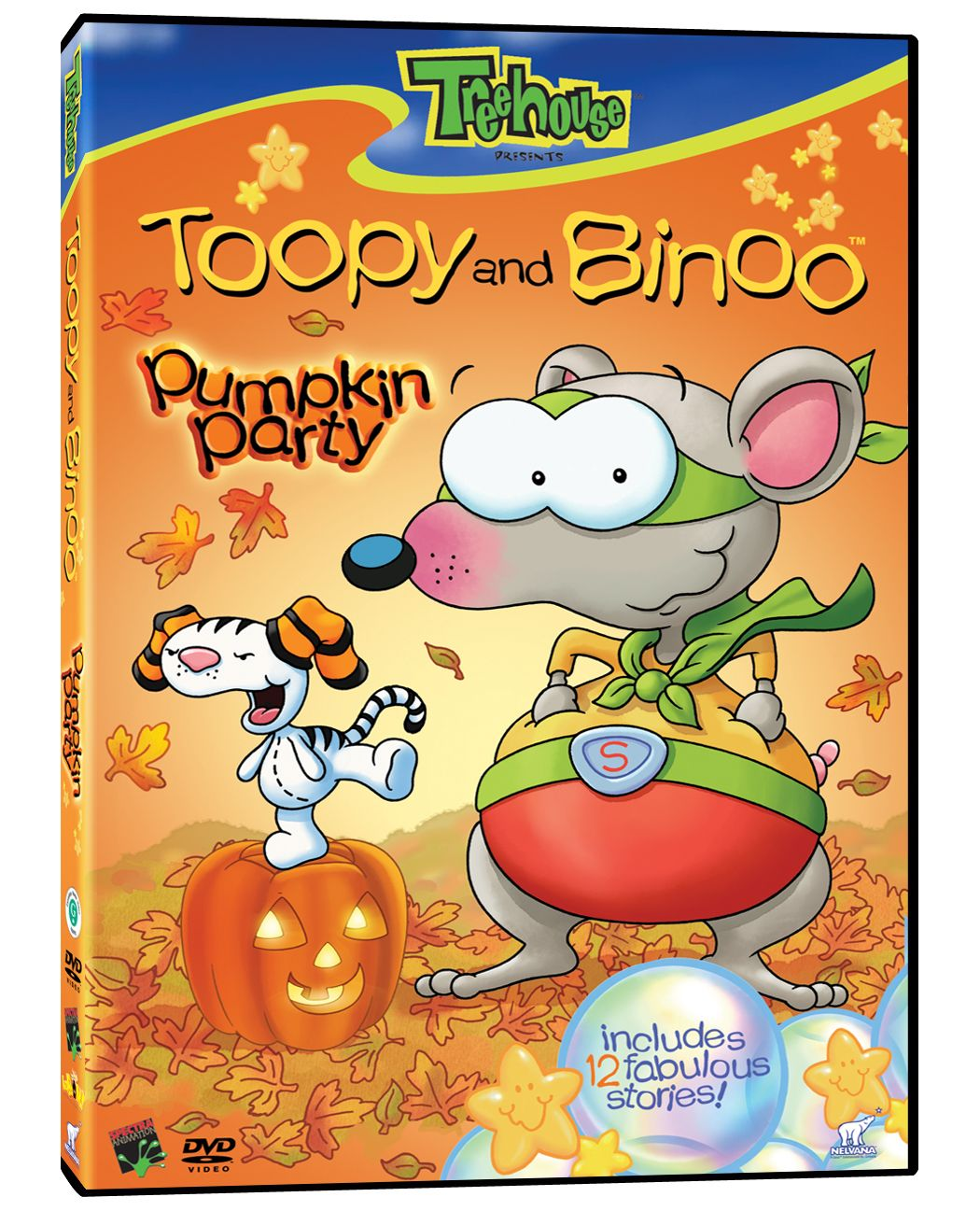 Toopy & Binoo Pumpkin Party Pumpkin party, Halloween