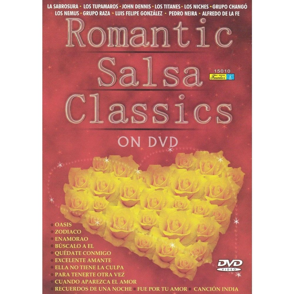 Romantic Salsa Classics (dvd_video)