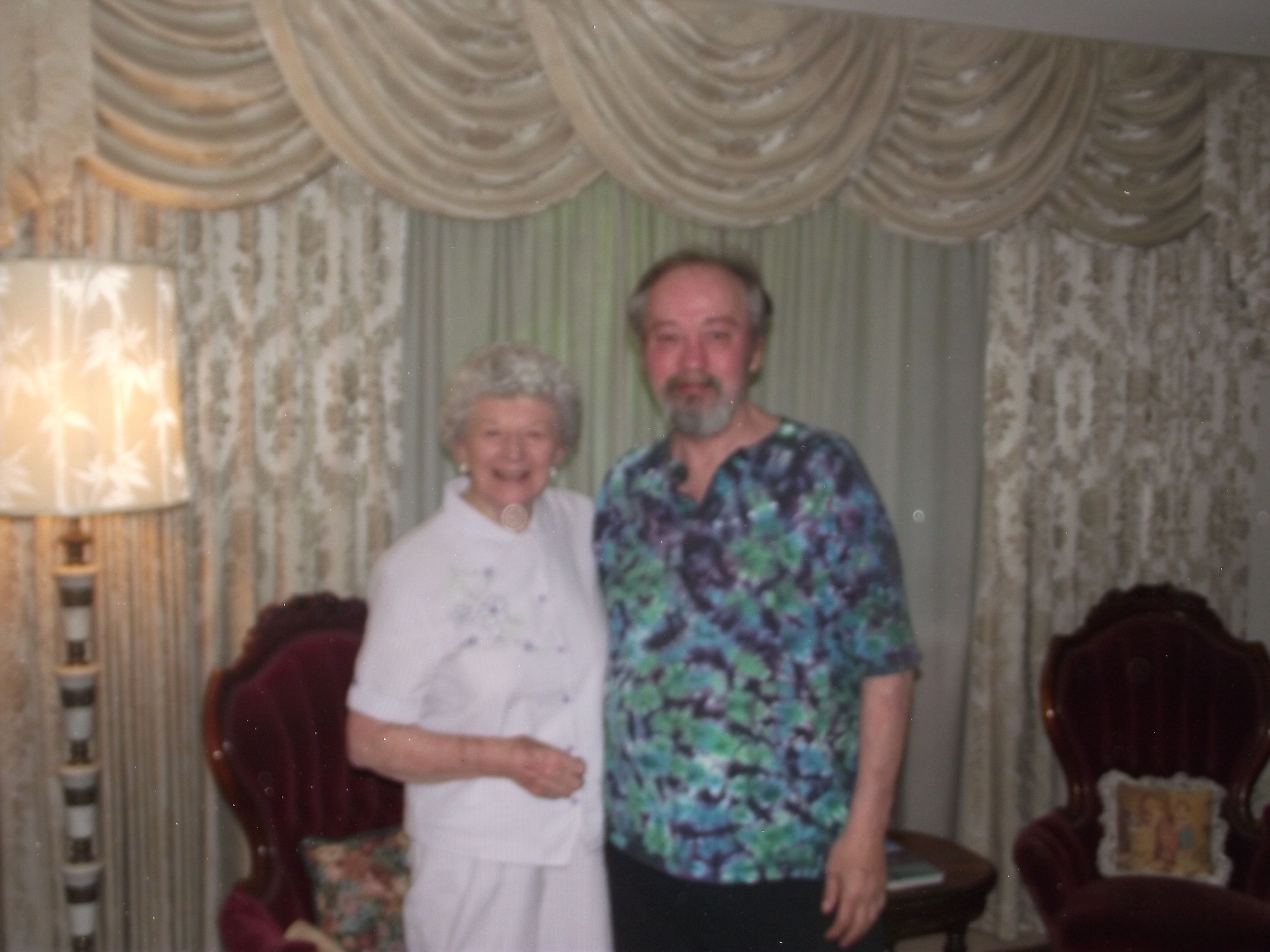 Ken and my Aunt Caroline