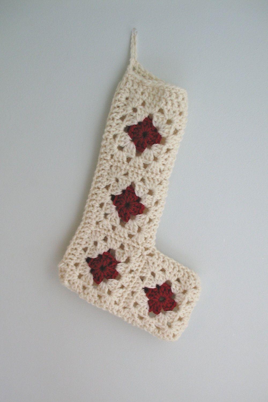 Crochet Christmas Stocking | Zapatitos | Navidad y Tejidos