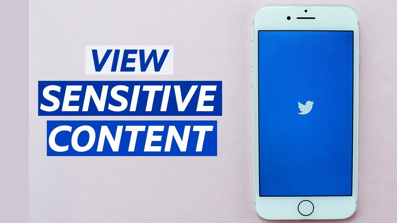 How To View Sensitive Content On Twitter Twitter App Sensitive Content