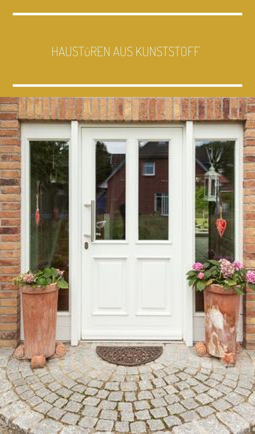 Photo of Haustüren aus Kunststoff oder Holz mit Stilelementen, wie Sprosse