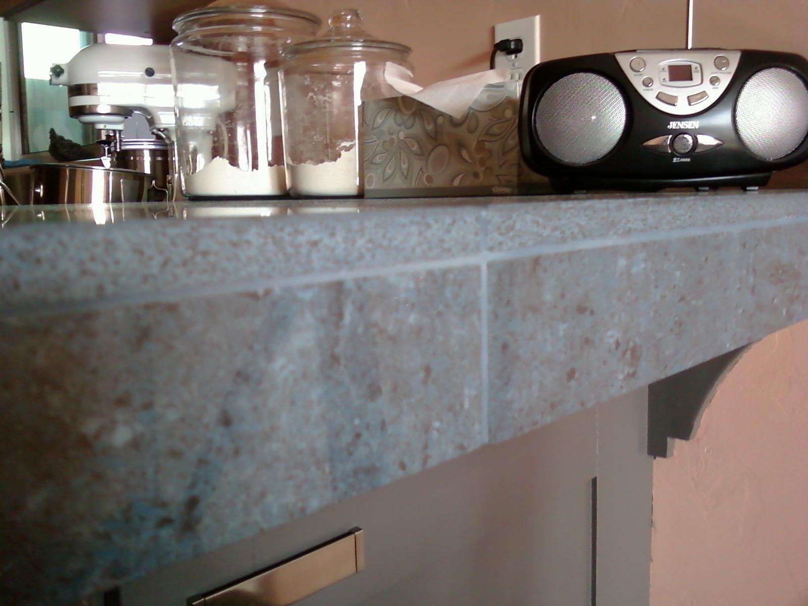 Unique Kitchen Remodeling Ideas The Porcelain Tile Countertop