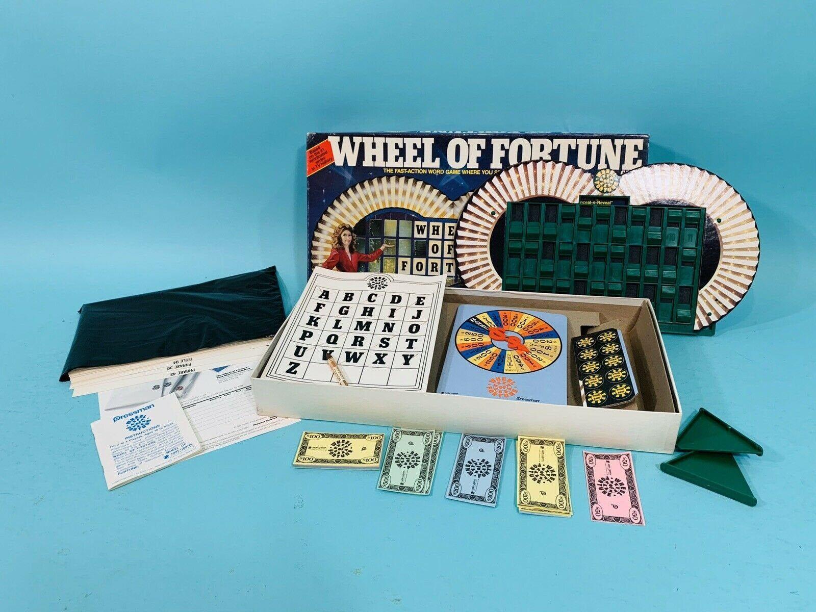 Photo of Juego de mesa vintage de los años 80 | Rueda de la fortuna Game Show 1985