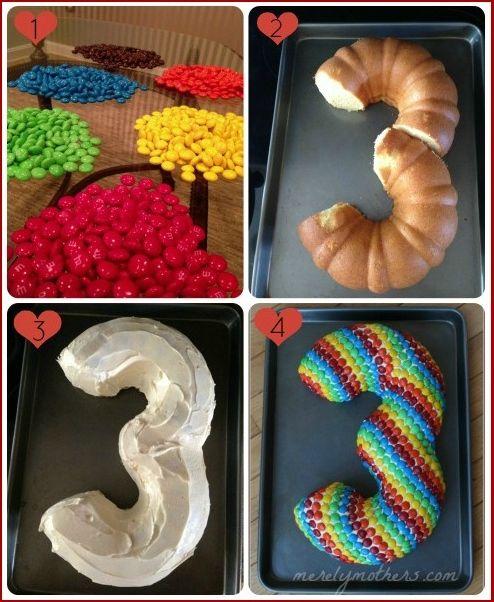 M And M Birthday Cake Ideas
