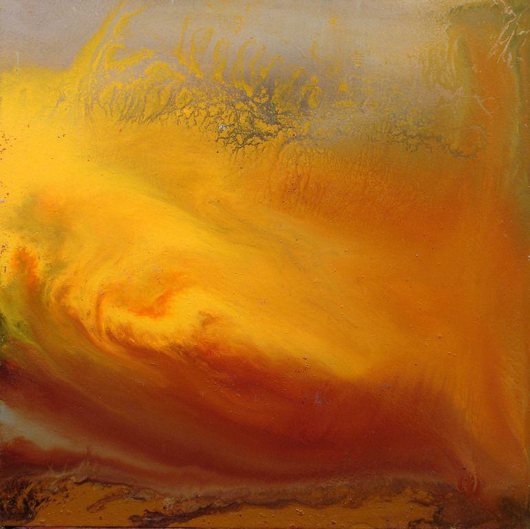 "Saatchi Online Artist: Maurice Sapiro; Oil, 2010, Painting ""Viscosity VII"""