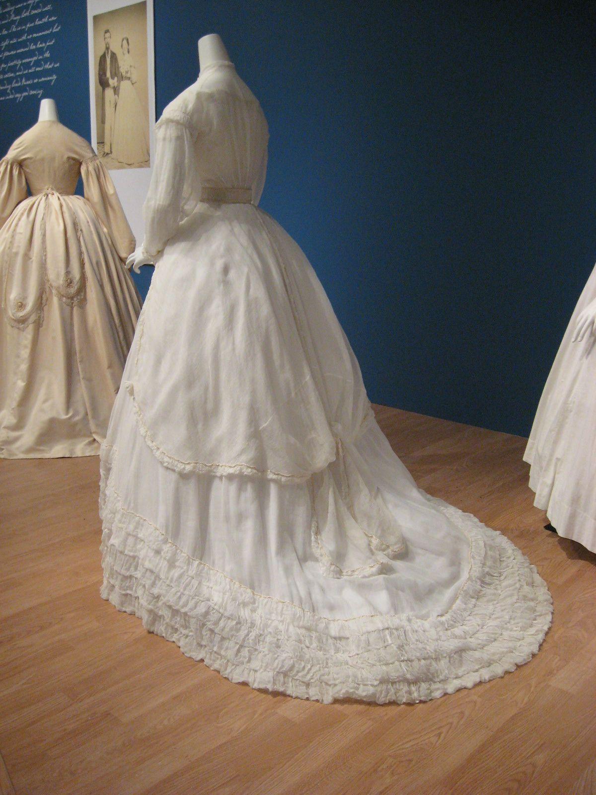 ksmf cotton gauze wedding gown satin belt cotton