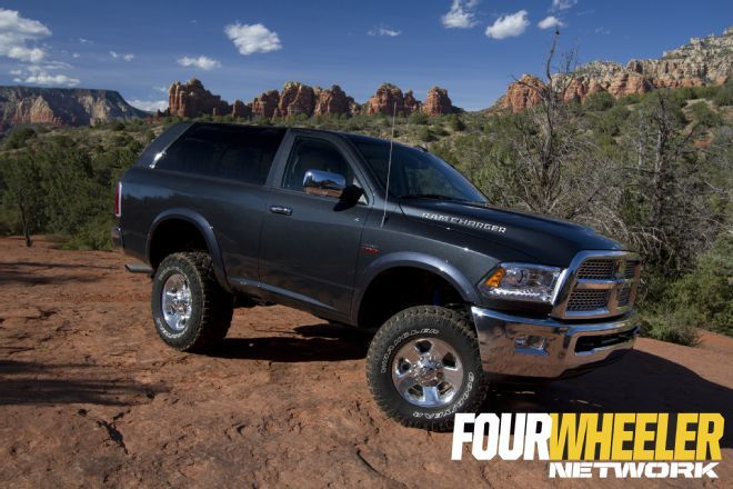 ram unveils 2017 ramcharger concept at easter jeep safari 2015 in moab too bad its - Dodge Ram 2016 Concept