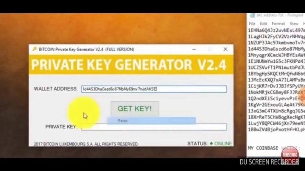 Bitcoin Private Key Generator V2 4 Full New Version Bitcoin Hack
