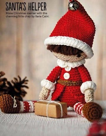 Cute Little Miss Elf-Amigurumi Crochet Pattern-PDF by BalimOrgu ... | 464x360