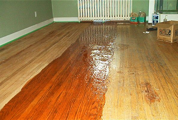How To Chemically Strip Wood Floors Wood Floors Flooring Wood