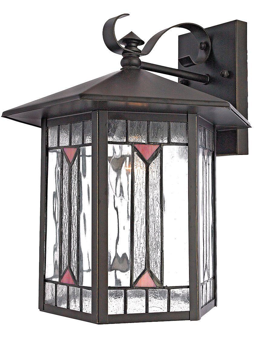 Period Exterior Lighting Chaparral Medium Wall Lantern In