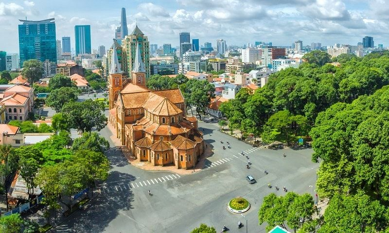 مدينة هو تشي منه في فيتنام Most Beautiful Cities Ho Chi Minh City Ho Chi Minh