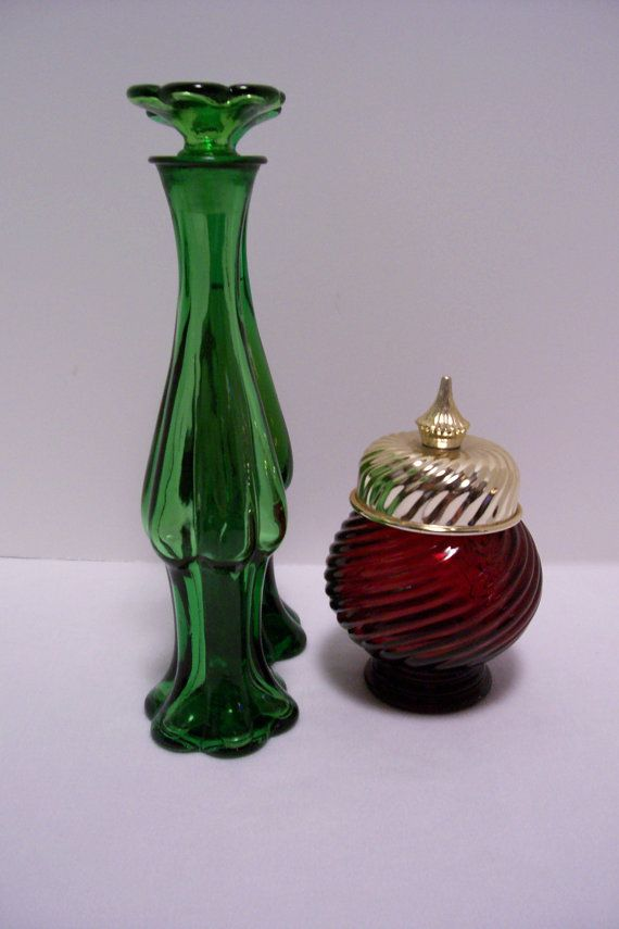 Avon Glass Bottles : glass, bottles, Collectible, Perfume, Bottles, 1960s, Avon,, Bottles,, 8.0…, Collectibles