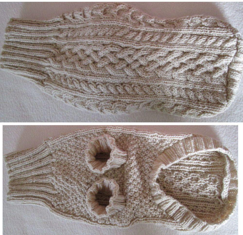 tricot pour chien patron recherche google dog sweaters beds pinterest tricot manteau. Black Bedroom Furniture Sets. Home Design Ideas
