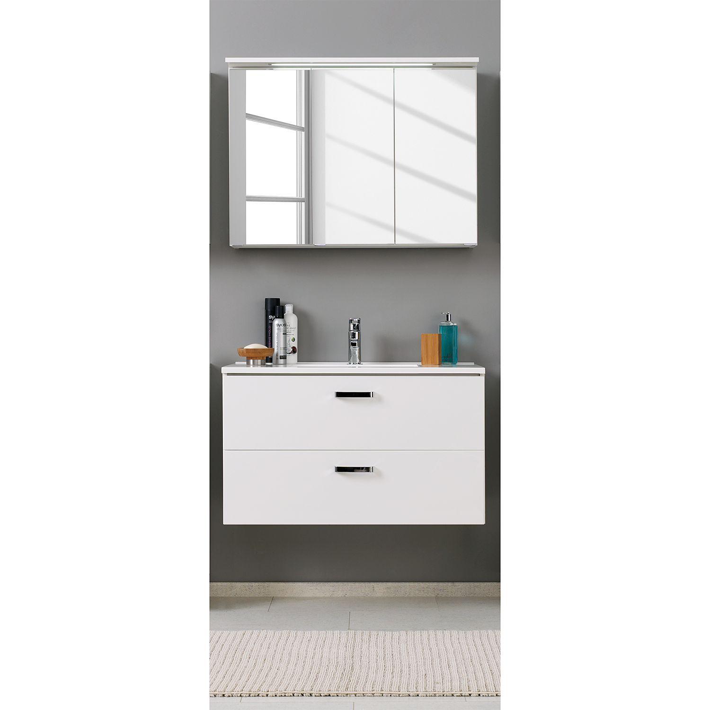 Waschtisch-Set Zeehan (2-teilig) - Weiß - 100 cm, Giessbach Jetzt ...