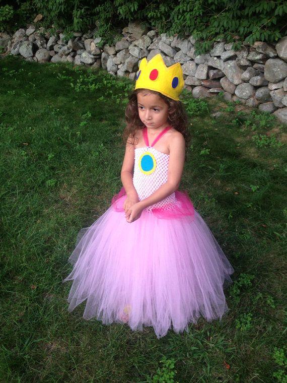 //.etsy.com/listing/161956275/princess-peach-tutu-dress-costume  sc 1 st  Pinterest & http://www.etsy.com/listing/161956275/princess-peach-tutu-dress ...