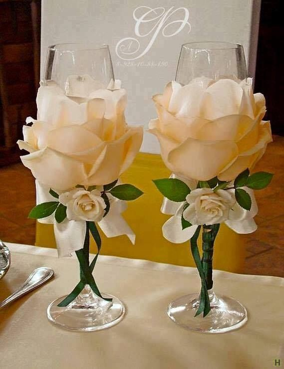 Aprende A Decorar Copas Glass Painting Wedding Wedding Glasses