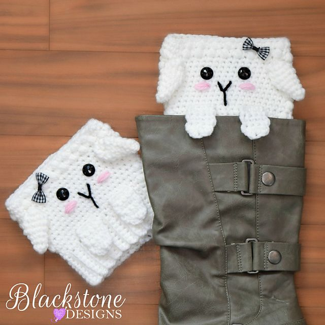Peeping Sheep Boot Cuffs pattern by Sonya Blackstone | Bibliotecas ...