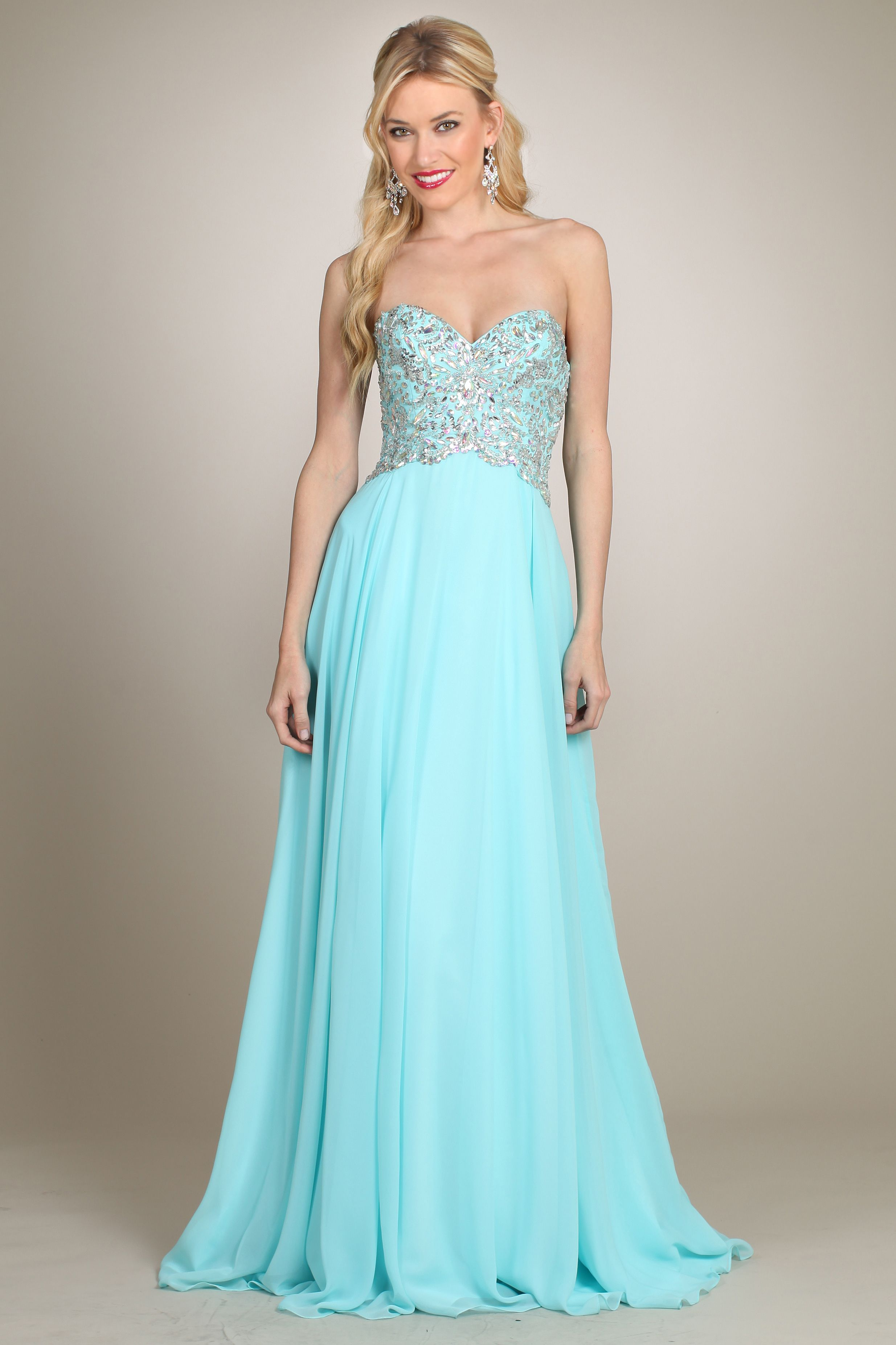 Mint Blue Prom Dress - YY0320 | Prom Dresses | Pinterest | Mint ...