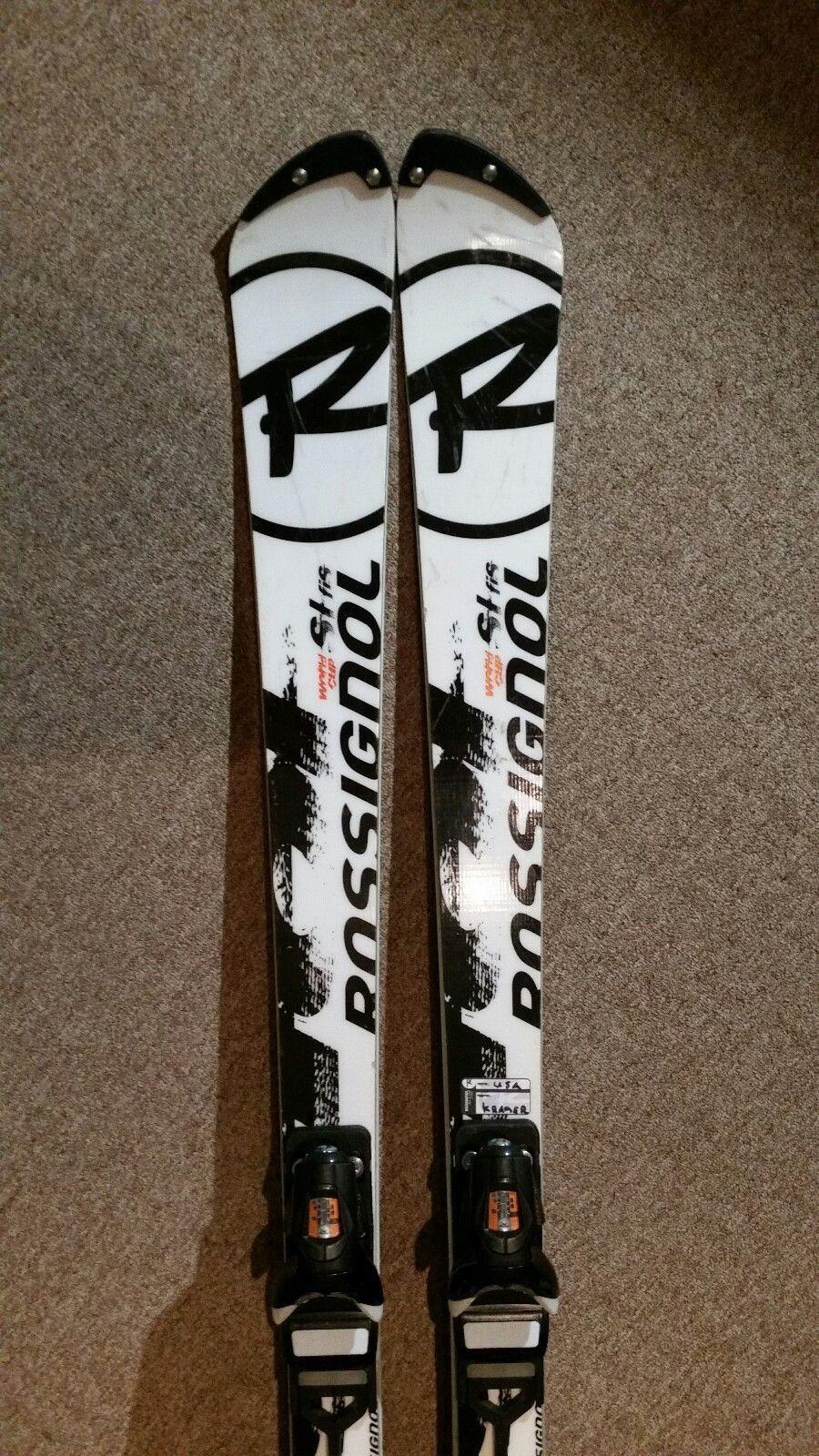 Rossignol World Cup Slalom Skis 165cm Slant Tip With Bindings Slalom Skiing Skiing World Cup