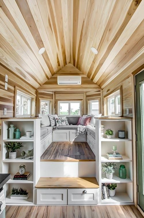 24' Clover Tiny House on Wheels by Modern Tiny Living #dreamhouserooms