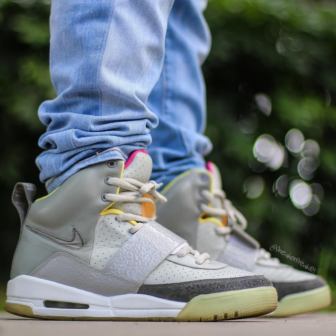 Nike Air Yeezy 1 Zen Grey Yeezy By Kanye West Sneakers Sneaker Head