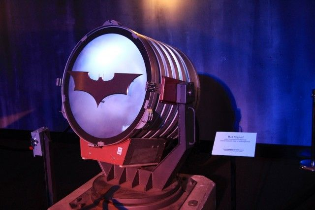 Batman The Dark Knight Exhibit In Los Angeles California