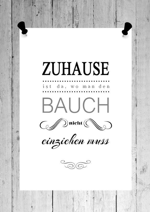 FINE ART Druck BAUCH EINZIEHEN Kunstdruck Print | Strukturiert ...