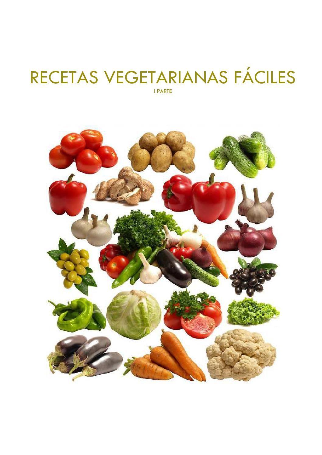 Recetas vegetarianas fciles con thermomix parte 1