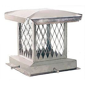 Product Image 1 Chimney Cap Stainless Steel Hood Fireplace Accessories