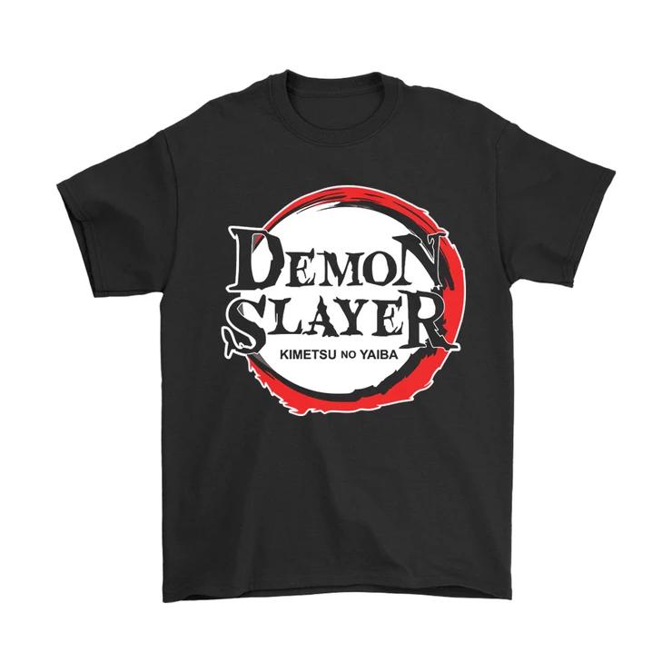 Demon Slayer Kimetsu No Yaiba Anime Logo Men S T Shirt T Shirt Shirts T Shirt World