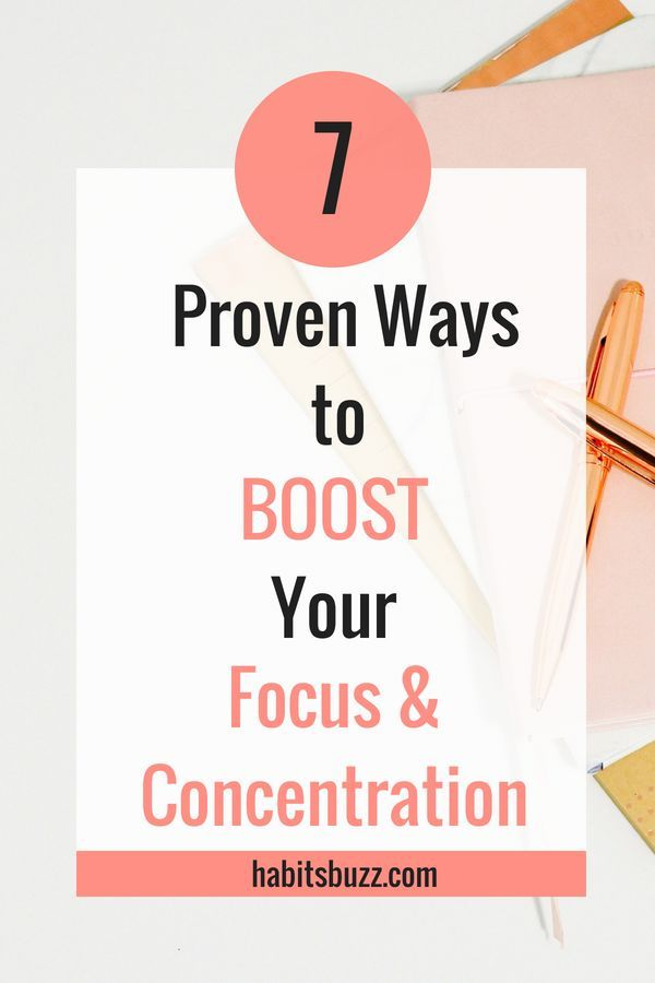 If you want to increase your productivity, you should be able to stay focused. Learn 7 proven ways to increase focus and concentration.
