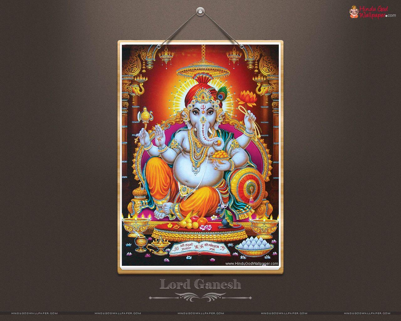 Hd wallpaper vinayagar - Lord Ganesha Hd Wallpapers Full Size Download