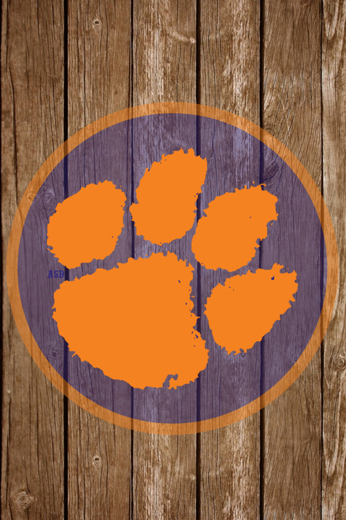 American Sweetheart Designs Clemson Wallpaper Clemson Tigers Wallpaper Clemson Tigers Football