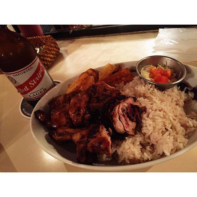ごちそうさまです  #aalawi #ebisu #恵比寿のジャークチキン #Jerk_Chicken #うまい