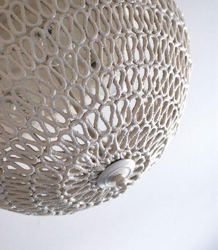 Detodomanualidades Como hacer lámpara para techo Lamparas