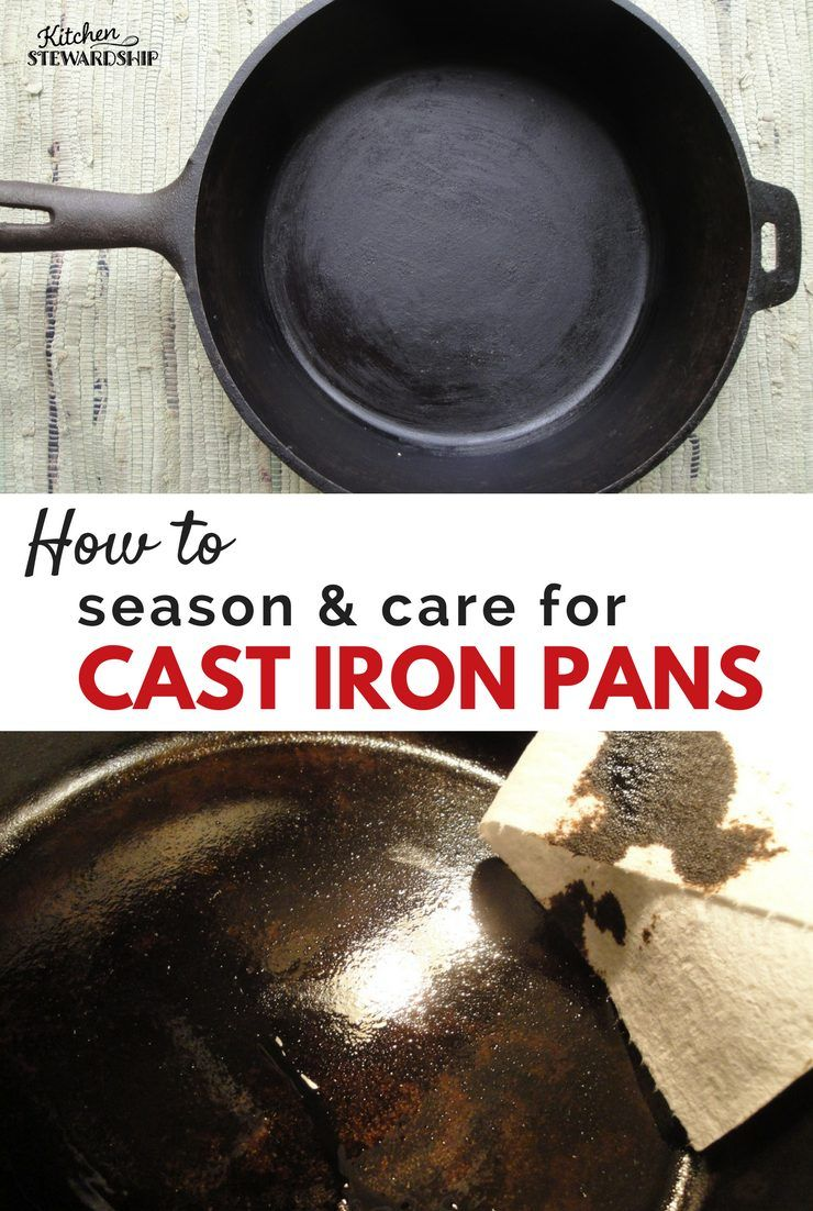 Afraid to use cast iron because you dont know how to care