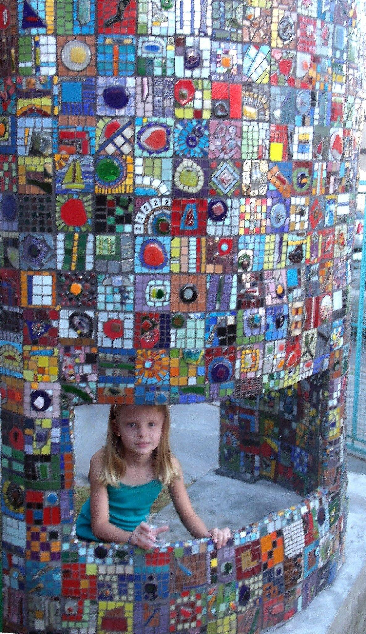 Pin by clauvrarei on mosaic wall art   Mosaic murals, Mosaic art ...
