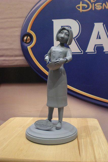 #Pixar #Ratatouille Colette #maquette - Jerome Ranft or Greg Dykstra