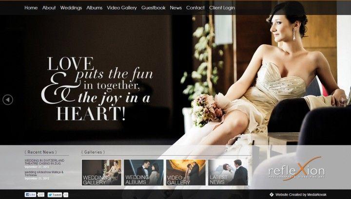 Wedding Photography Websites of the Week - Photography Websites