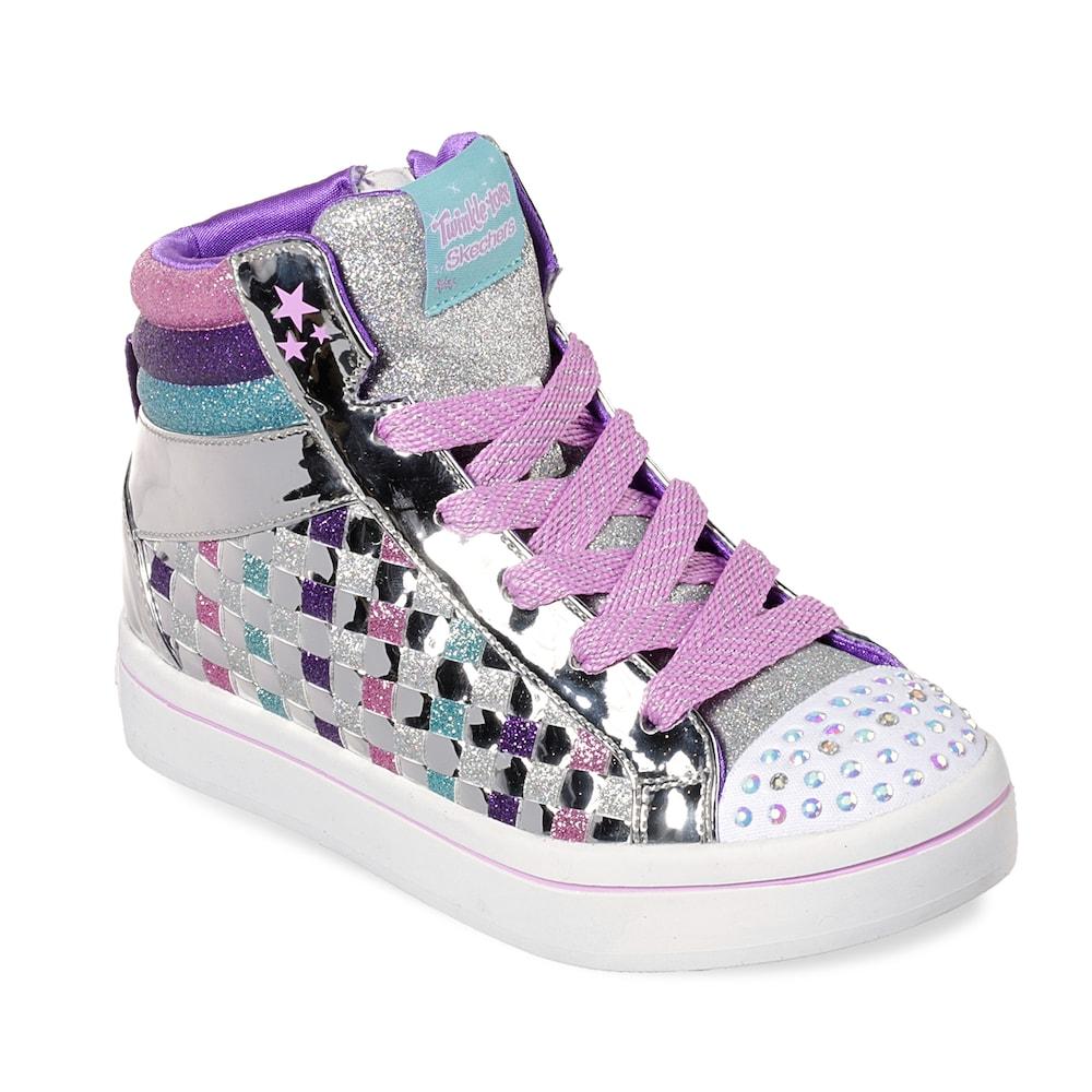 Skechers Twinkle Toes Twinkle Lite Sparkle Status Girls