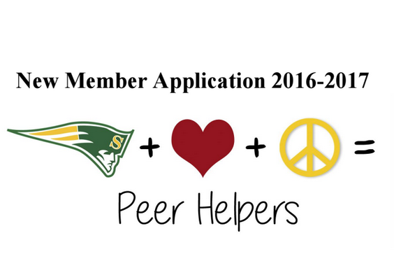 Attention sophomores and juniors: Do you want to help make SHS a safer place? Are you a good leader, compassionate, open-minded and creative? If so, Peer Helpers may be the program for you. Download your application here >  or pick one up in the Student Activities Office. Apps are due by 3:30 p.m. on Tuesday, April 5. For questions or more information, talk to a Peer Helper in the student lounge during lunch or contact Ms. Polisky or Ms. Schiavone.