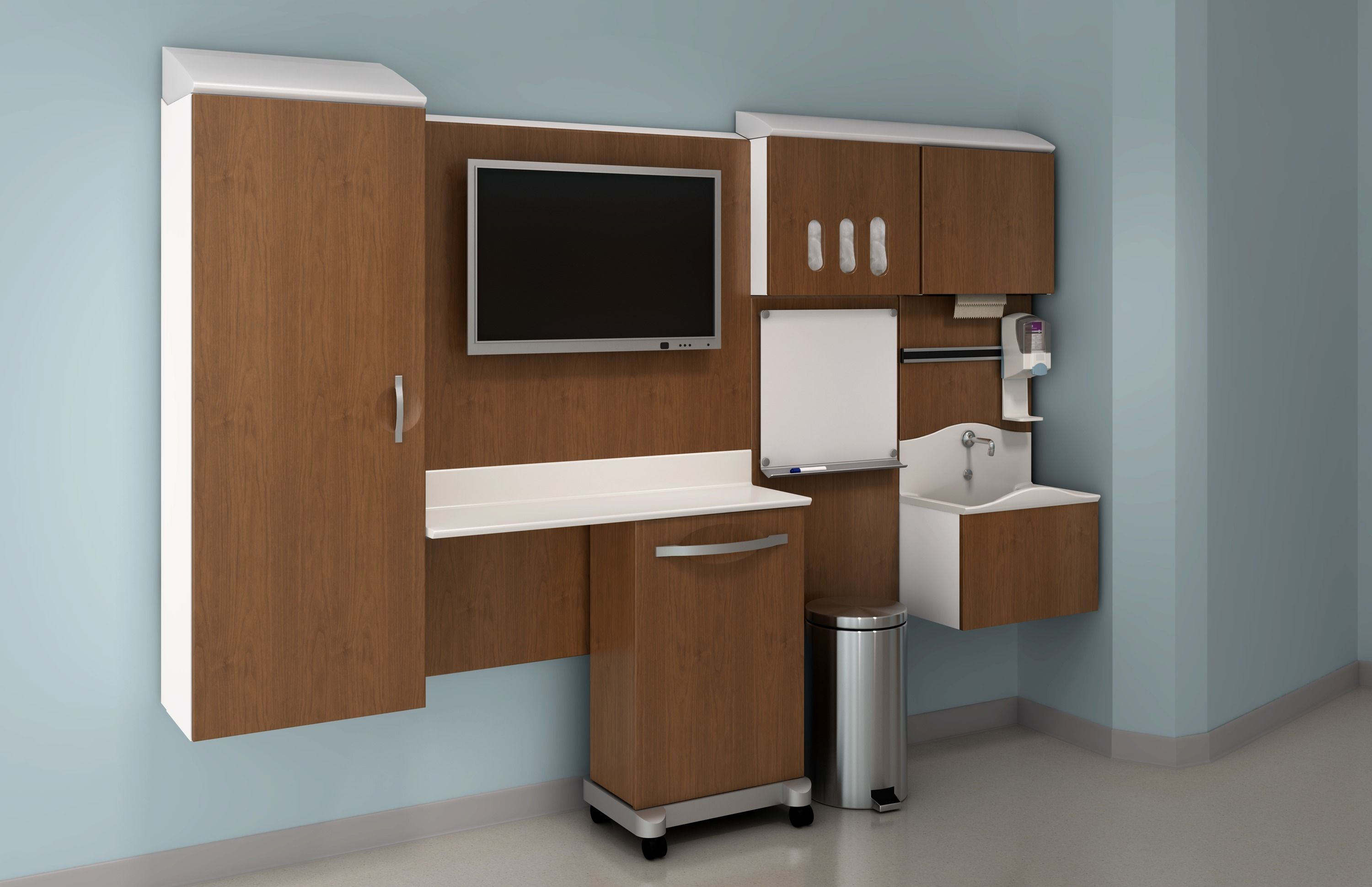 pass healthcare furniture systems are used to create applications for patient rooms exam rooms caregiver work areas and other clinical spaces