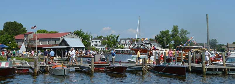 Thursday, 6/16: Set up day for classic boat & motor displays and the Arts at Navy Point