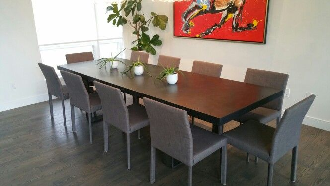 Concrete Dining Table From Exclusive Exclusiveconcrete Londonontario