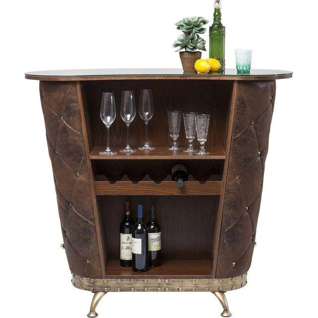 Bar Rocky Vintage Kare Design Kare Design La Redoute Meuble Bar Bar Retro Cuir Vieilli