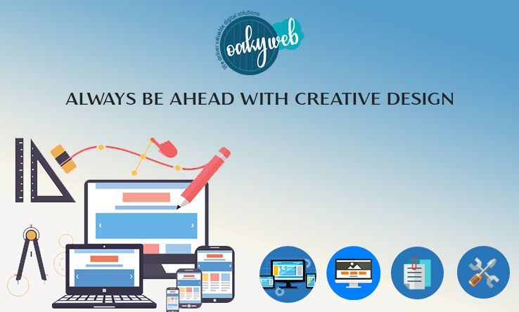 Oaky Web Is One Of The Best Web Design And Development Company In Delhi Ncr It Provides Accords Website D Web Development Design Web Design Web Design Company