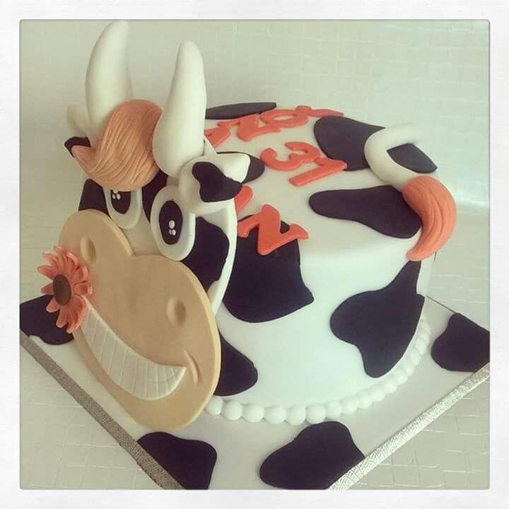 Gâteau vache Pâte à sucre | Gateau, Pate a sucre recette ...